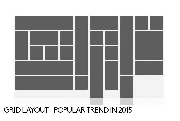 Las tendencias de dise o gr fico y dise o web que for Grid landscape design