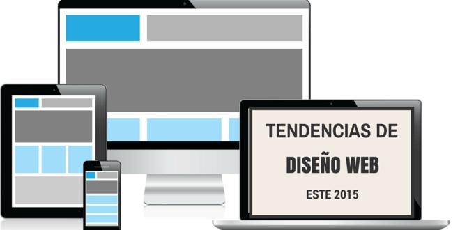 Tendencias en diseño web para este 2015
