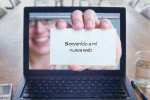 bienvenido nueva web marketing